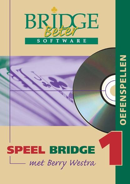 Speel bridge met Berry Westra oefenspellen 1 CD-ROM