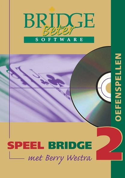 Speel bridge met Berry Westra oefenspellen 2 CD-ROM