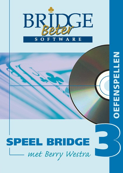 Speel bridge met Berry Westra oefenspellen 3 CD-ROM