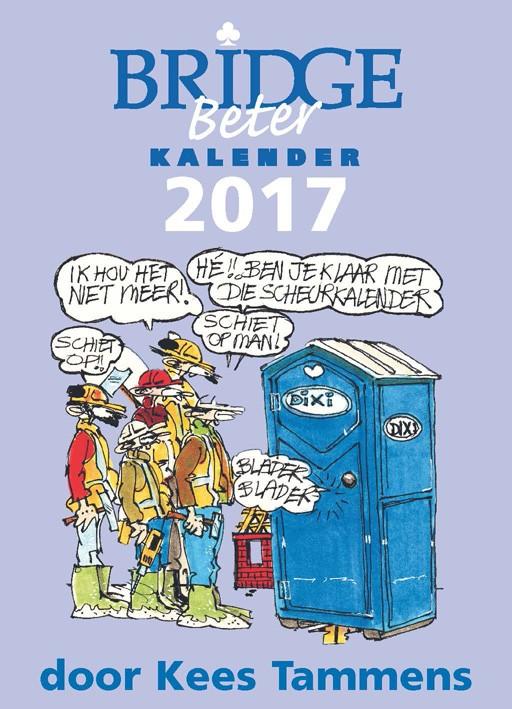 Bridge Beter Scheurkalender 2017