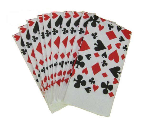 papieren zakdoekjes kaarttekens