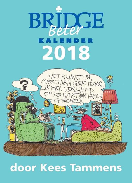 Bridge Beter Scheurkalender 2018