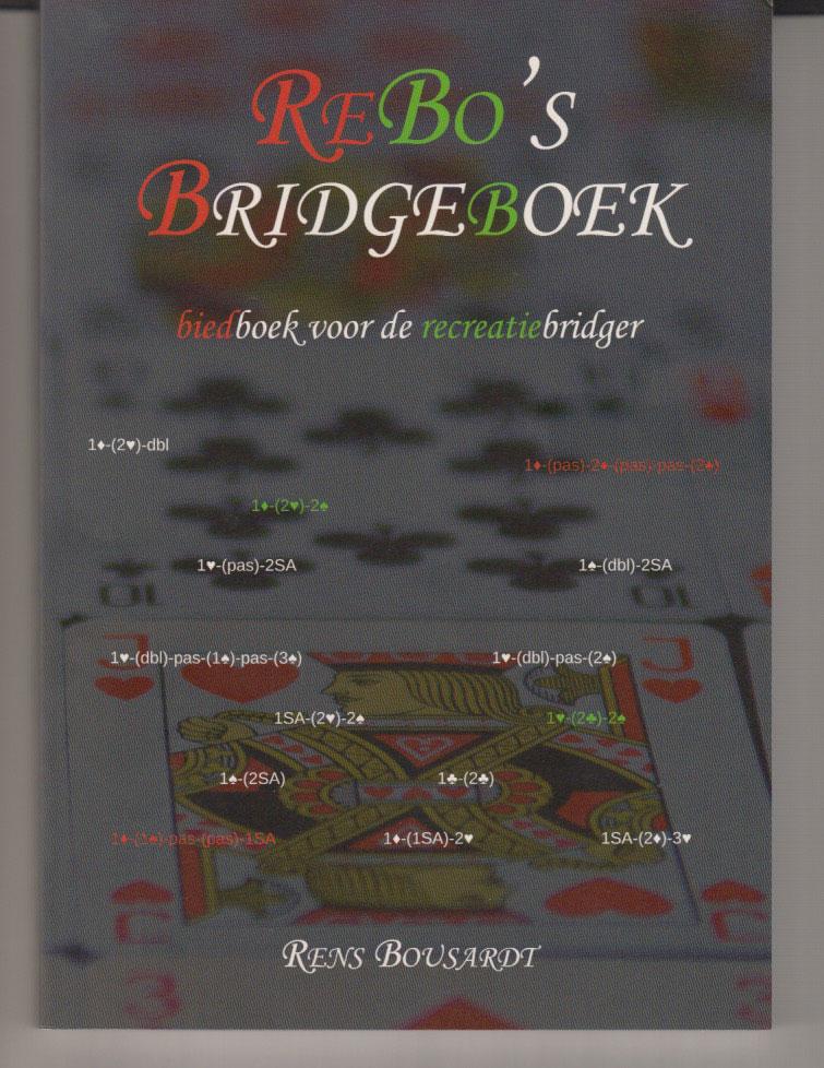 rebo s bridgeboek biedboek voor de recreatiebridger